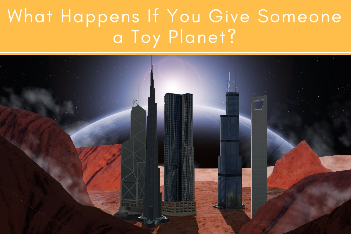 What Happens if You Give Someone a Toy Planet? | Tubarks